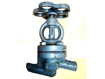 Клапаны запорные ру6 под приварку